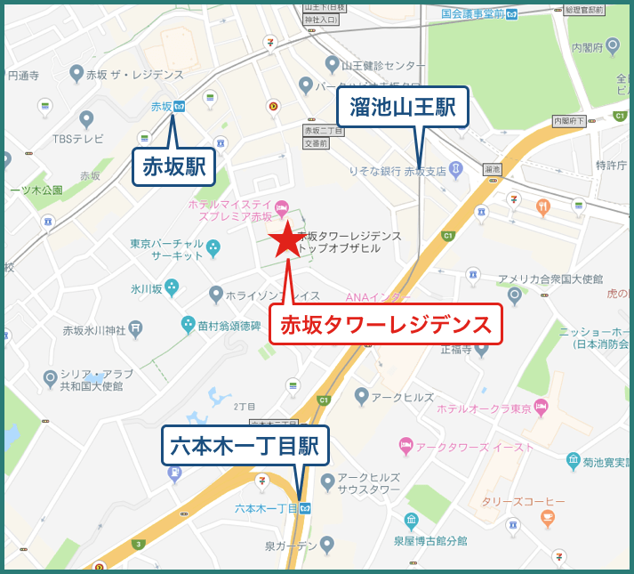 赤坂タワーレジデンス Top of the Hillのアイキャッチ