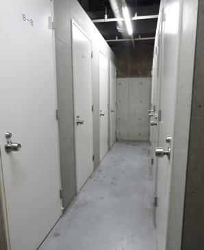 ベイコート芝浦のトランクルーム