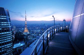 愛宕グリーンヒルズフォレストタワーの眺望