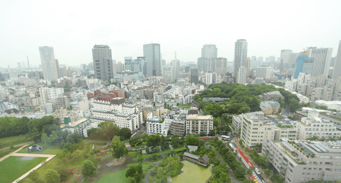 ザ・パーク・レジデンシィズ・アット・ザ・リッツ・カールトン東京の眺望