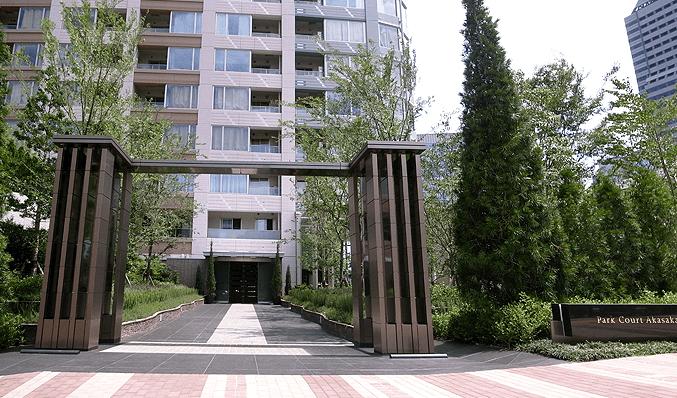 パークコート赤坂ザ タワーのエントランス