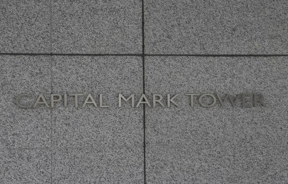 キャピタルマークタワーのプレート