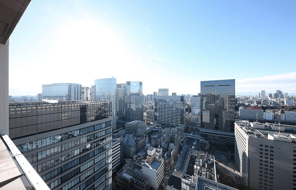 品川ハートビュータワーの眺望