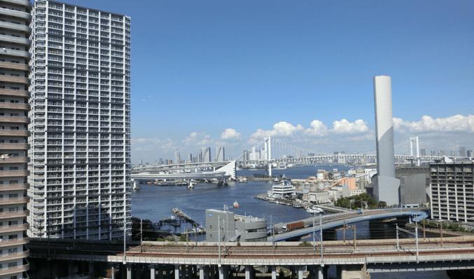 東京サウスブランファーレの眺望
