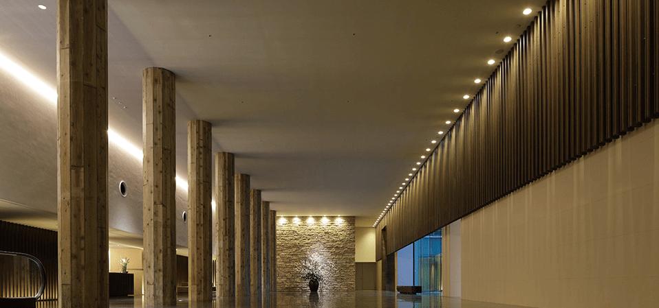 ラトゥール代官山のエントランスホール