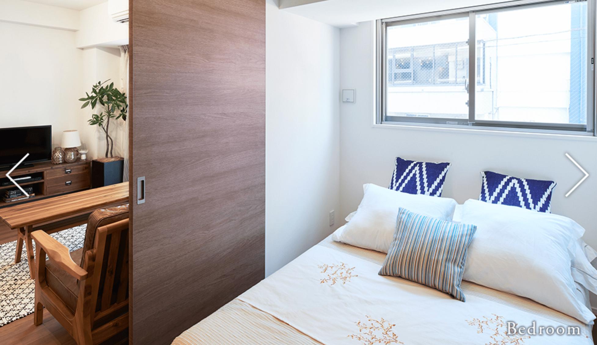パークハビオ新宿のベッドルーム