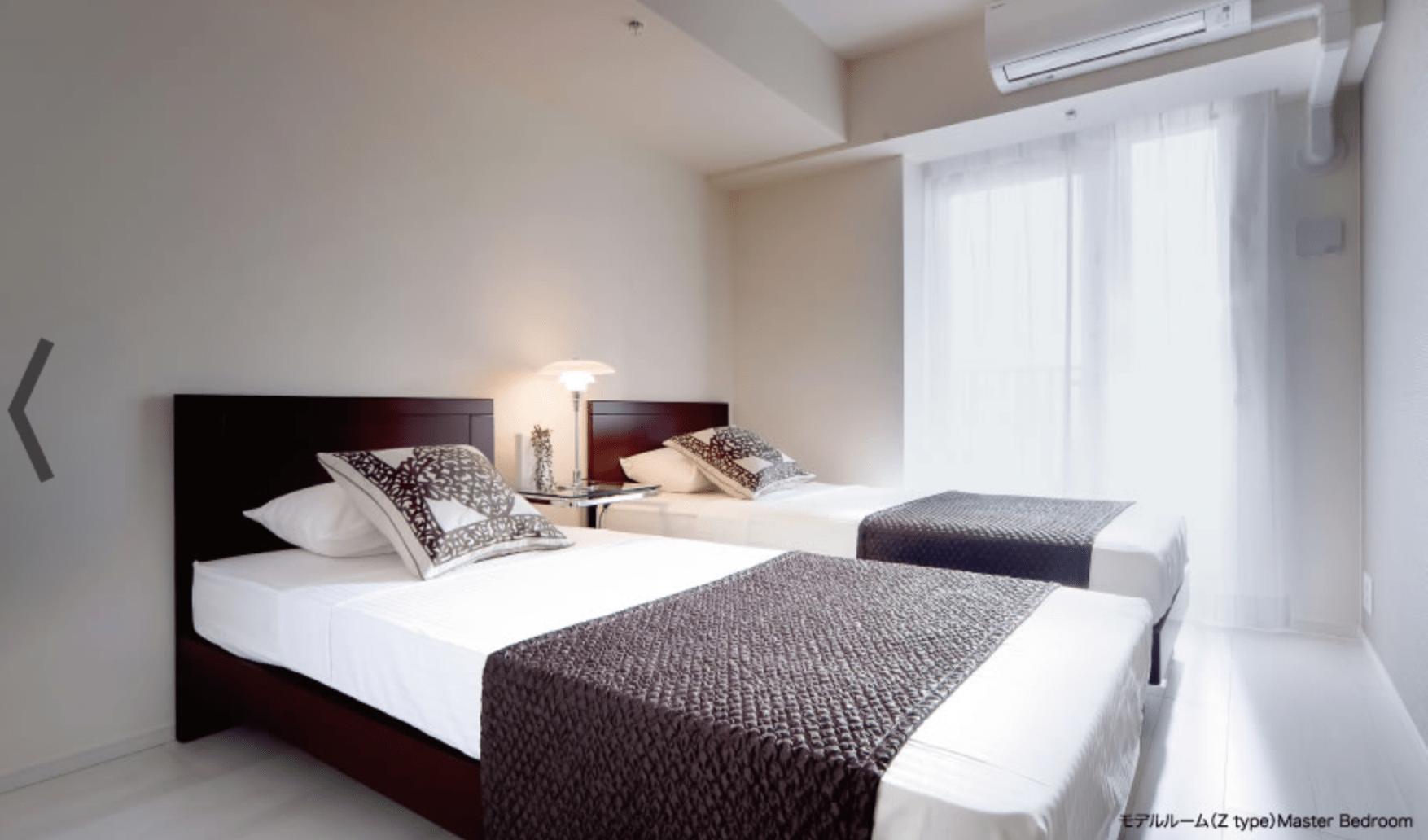 パークアクシス豊洲キャナルのベッドルームイメージ