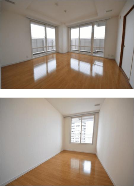 リバーシティ21イーストタワーズ10号棟の室内