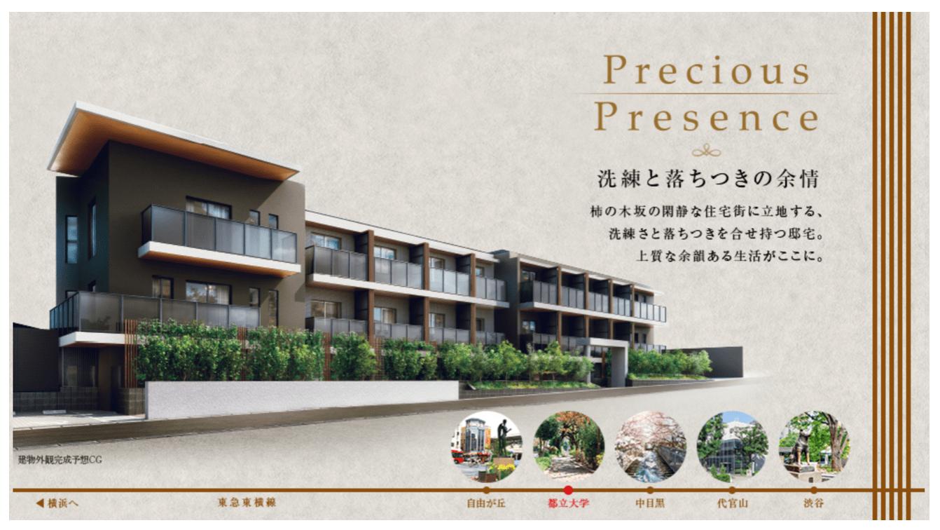 パークハビオ柿の木坂のイメージ
