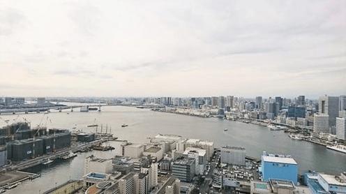 勝どきザ・タワーの眺望