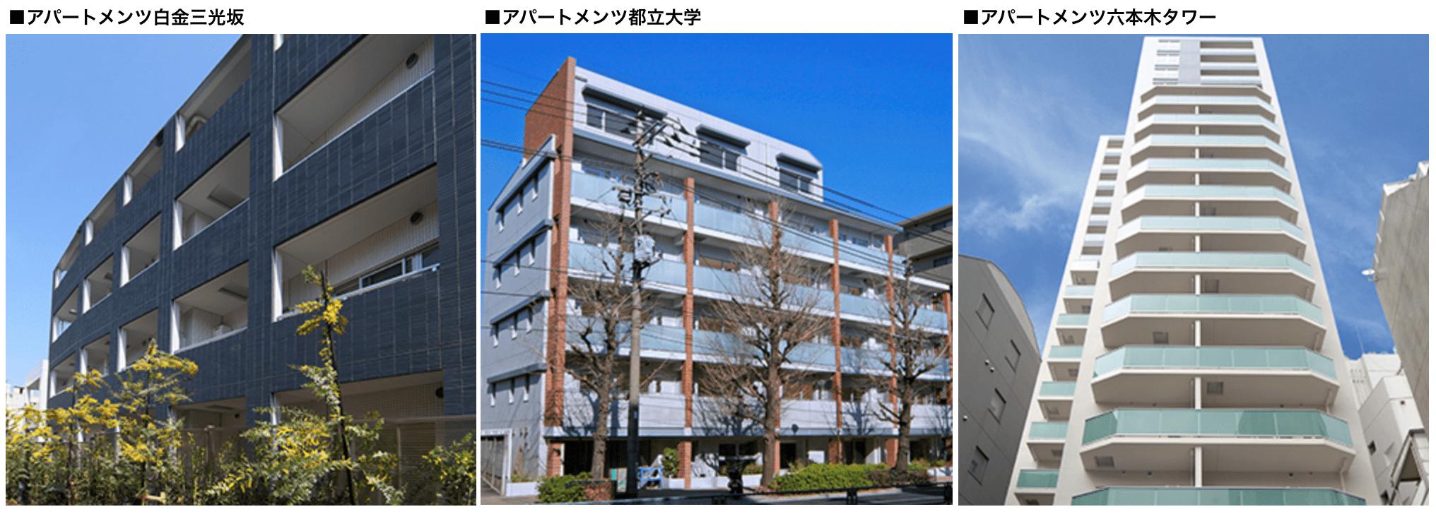 アパートメンツの外観イメージ