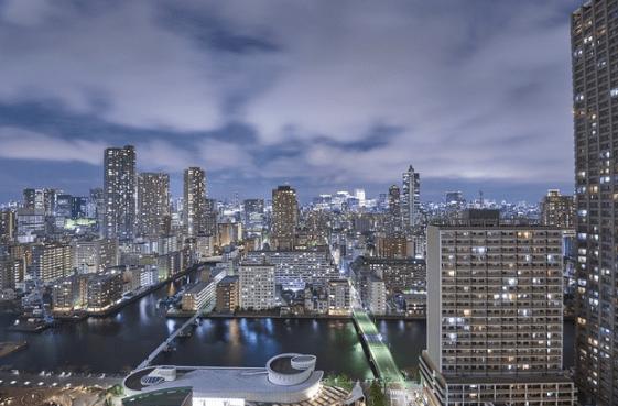 晴海アイランドトリトンスクエアアーバンタワーの眺望