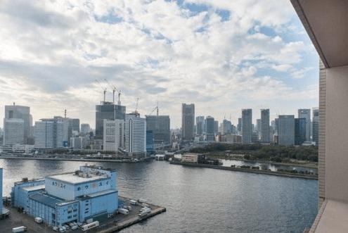 コスモ東京ベイタワーの眺望