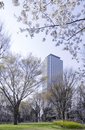 コンシェリア西新宿の外観イメージ