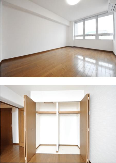 リバーシティ21イーストタワーズⅡの室内