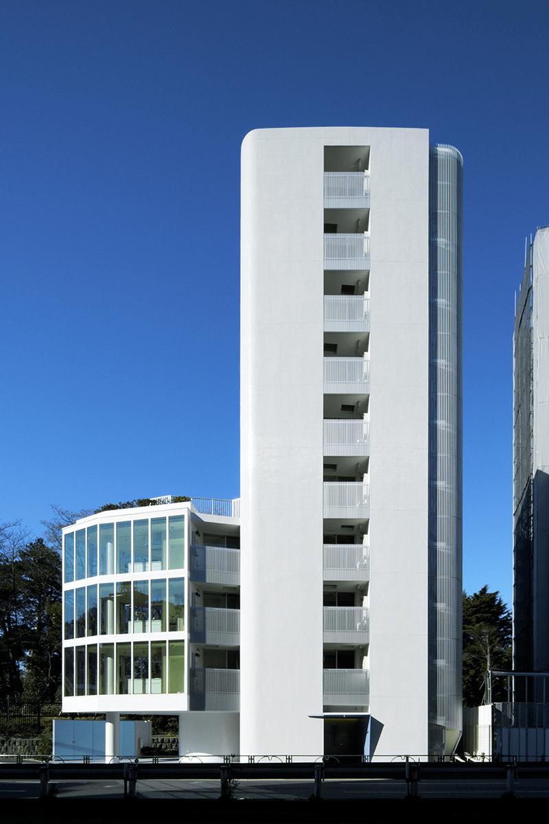 プラウドフラット新宿御苑の外観イメージ