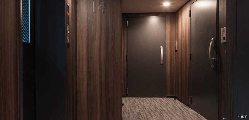 クレヴィアリグゼ小石川の内廊下イメージ