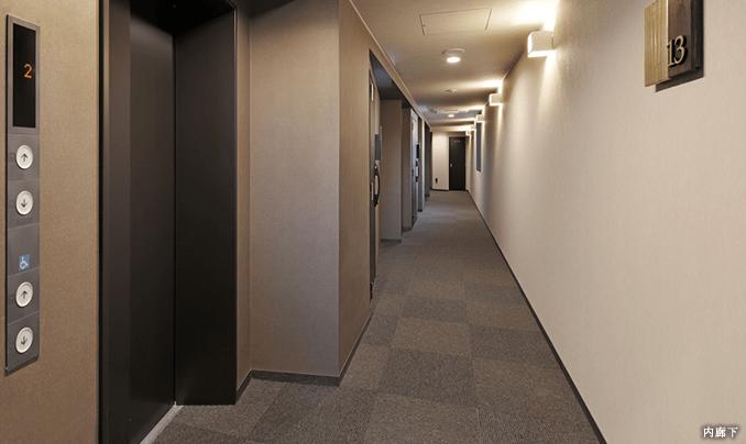 クレヴィアリグゼ三軒茶屋の内廊下イメージ