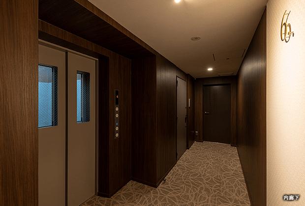 クレヴィアリグゼ日暮里の内廊下イメージ