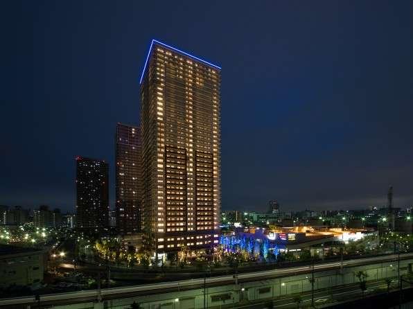 ロイヤルパークスタワー南千住の外観イメージ