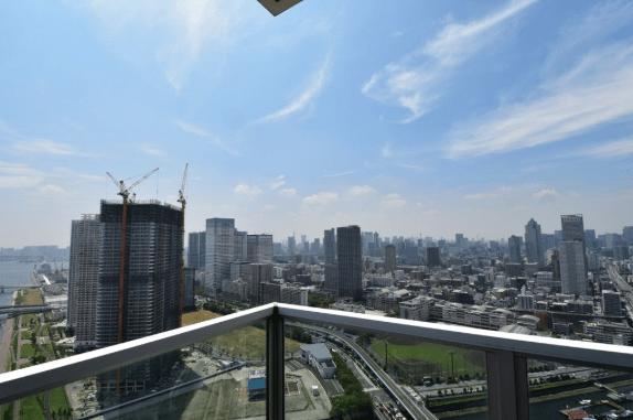 アーバンドックパークシティ豊洲の眺望