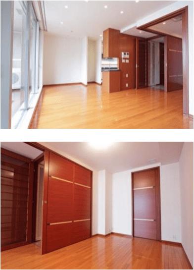 青山パークタワーの室内