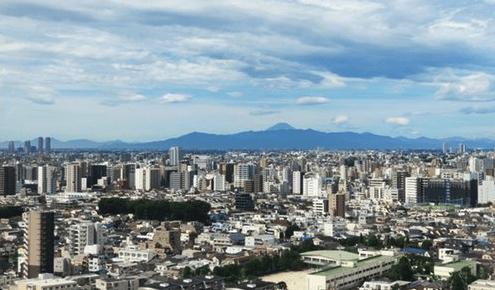 大崎ウエストシティタワーズの眺望
