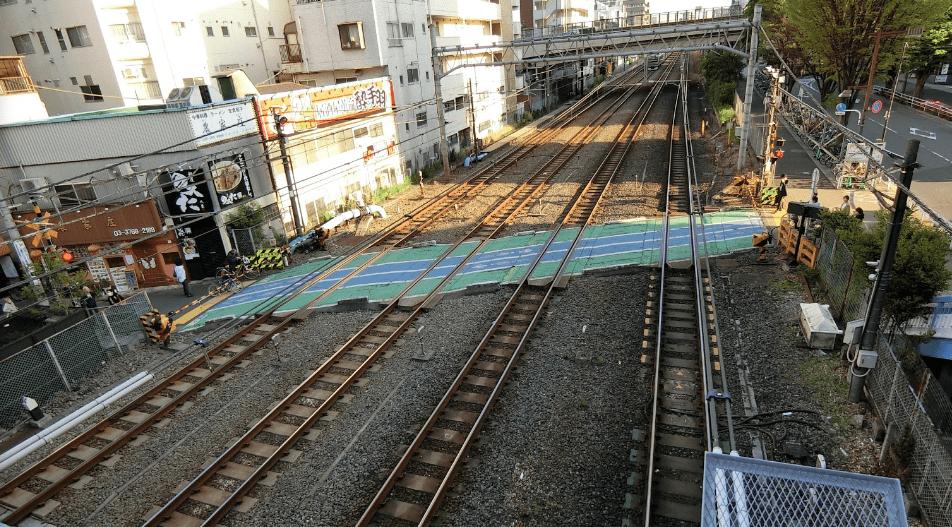 大井町線の路線