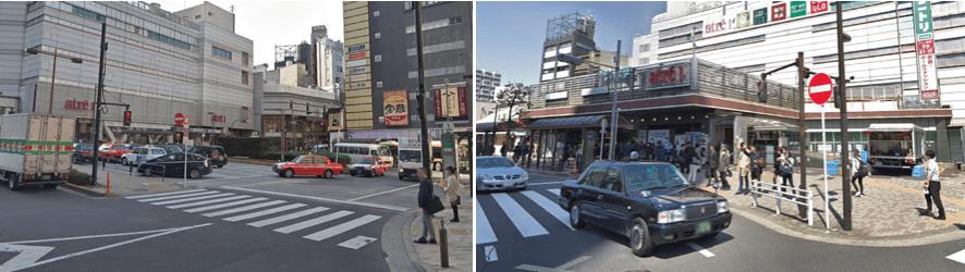 目黒駅周辺のイメージ