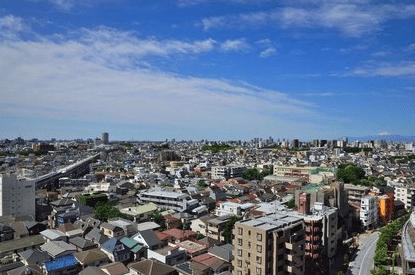 ル・サンク大崎ウィズタワーの眺望