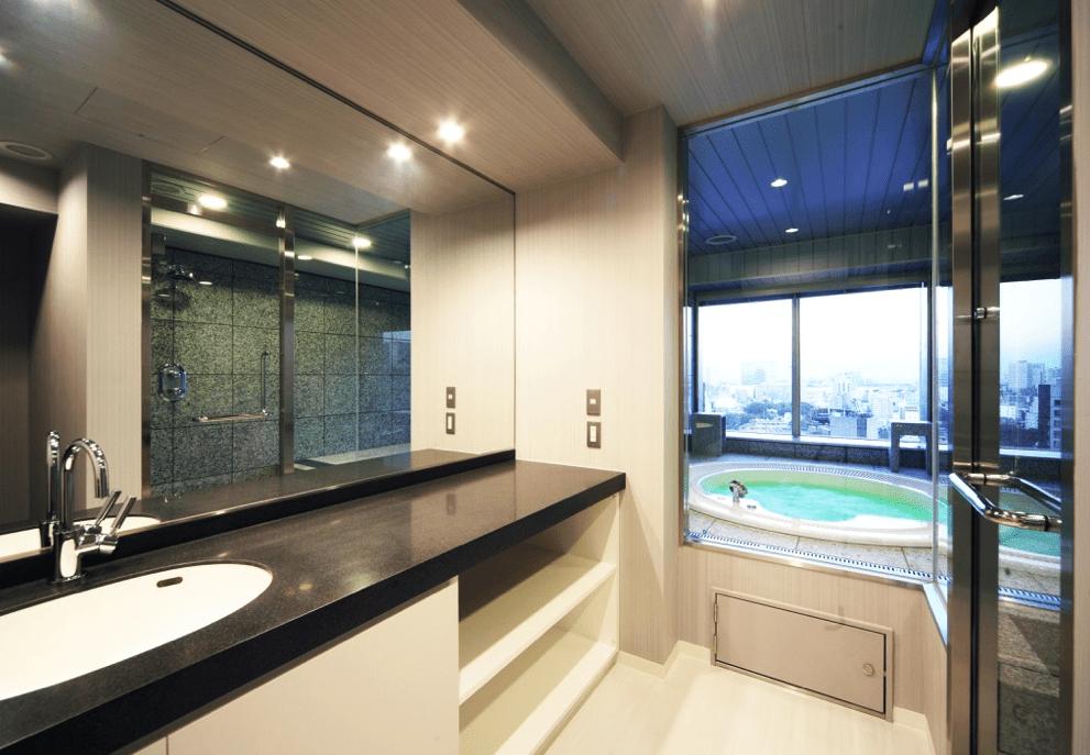 ブリリアタワー大崎のジェットバスルーム
