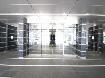 アートヴィレッジ大崎ビュータワーのエントランス