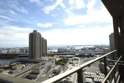 パークタワー東雲の眺望