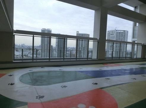 パークタワー東雲のスカイドッグラン