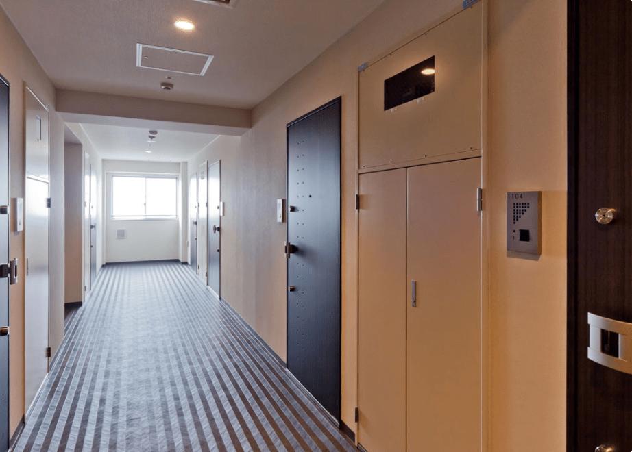 ジェノヴィア浅草2スカイガーデンの内廊下