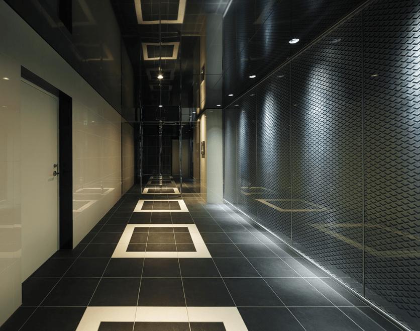 ジェノヴィア東日本橋駅前グリーンヴェールのエントランスホール