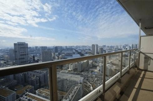 プラウドタワー東雲キャナルコートの眺望