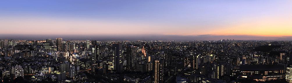 ブリリアタワーズ目黒の眺望