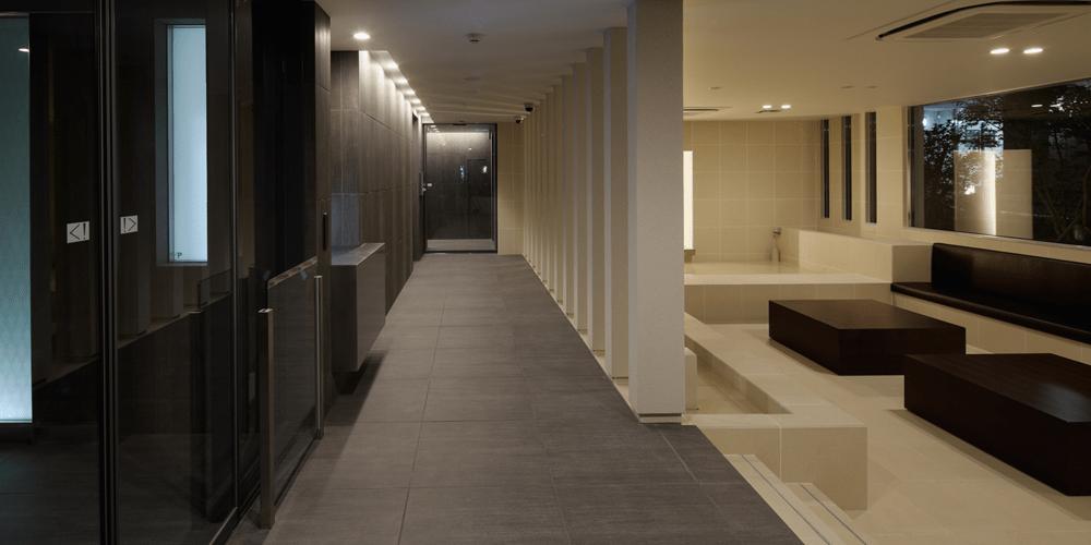 パークリュクス三宿のエントランスホール