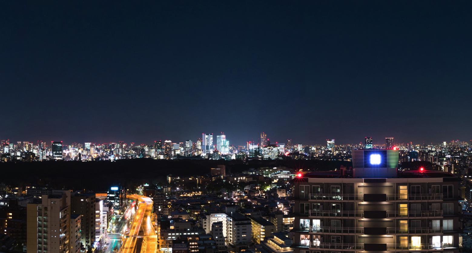 TSI新宿タワーの眺望