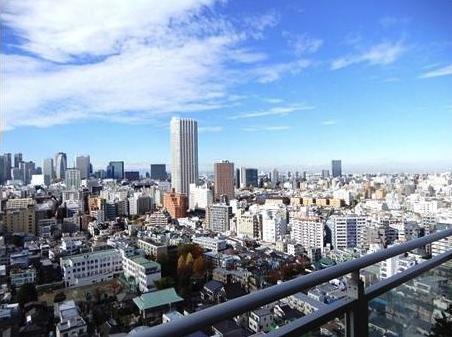 シティタワー四谷の眺望