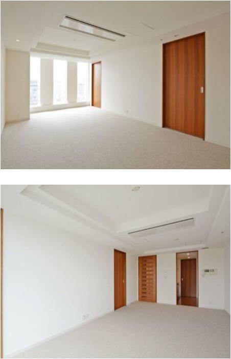 プルデンシャルタワーレジデンスの室内