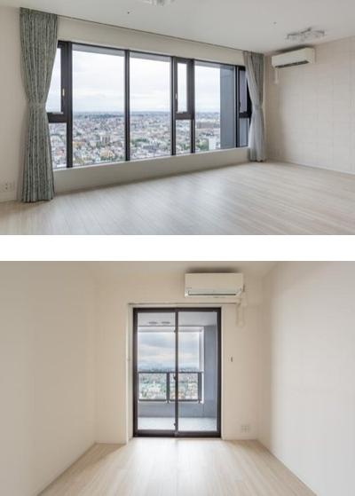 シティタワー武蔵小杉の室内