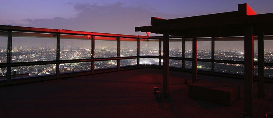 パークシティ武蔵小杉ミッドスカイタワーのスカイテラス