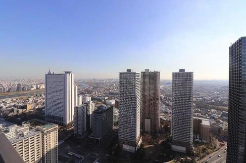 パークシティ武蔵小杉ミッドスカイタワーの眺望