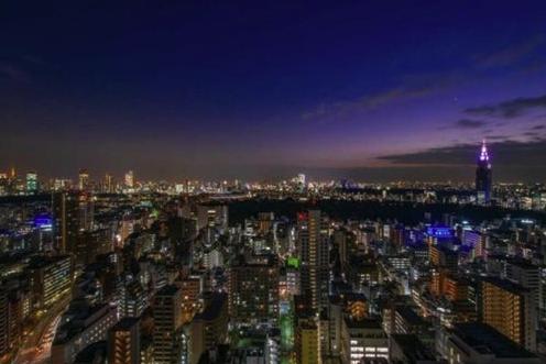 富久クロスコンフォートタワーの眺望