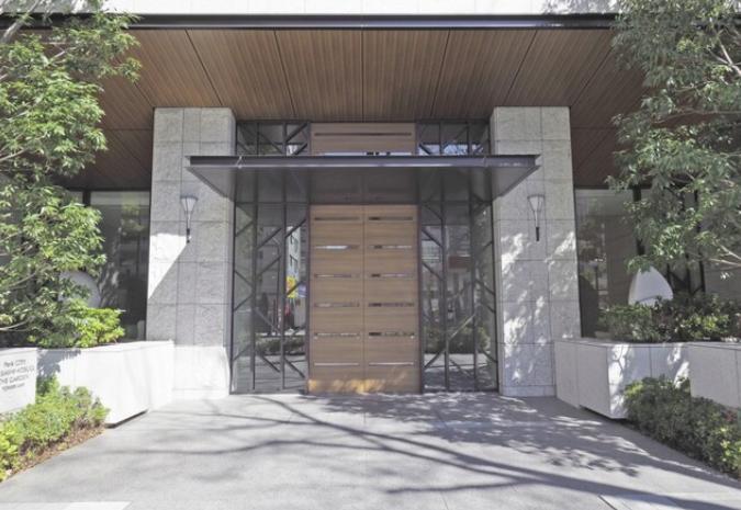 パークシティ武蔵小杉 ザ ガーデンのエントランス