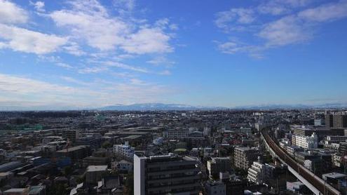 プラウドタワー武蔵小杉の眺望