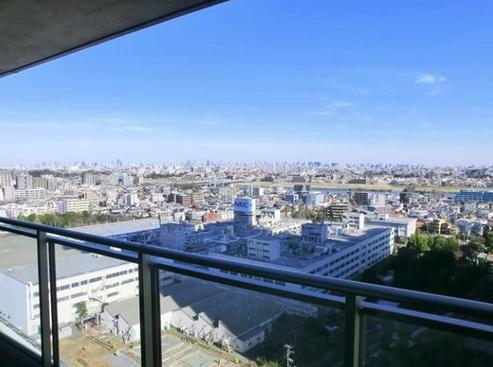 シティハウス武蔵小杉の眺望