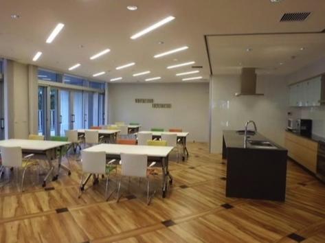 パークタワー新川崎のコミュニティスタジオ